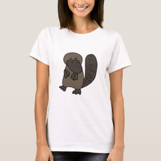 Cartoon Platypus T-Shirt