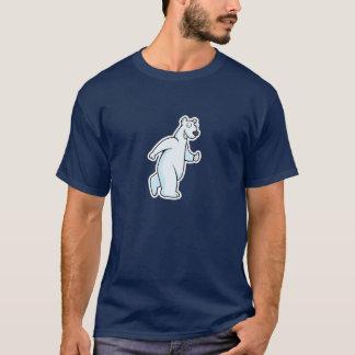 Cartoon-polarer Bärn-T - Shirt
