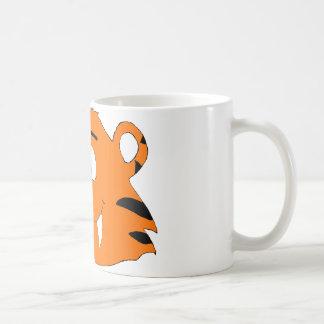 Cartoon-Tiger mit dem süßen Zahn Tasse
