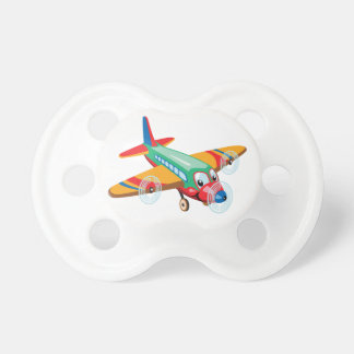 Cartoonflugzeug Baby Schnuller