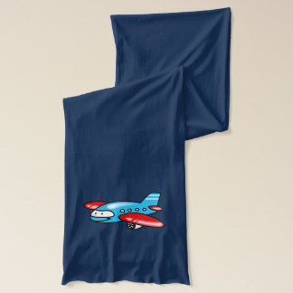Cartoonflugzeug Schal