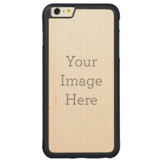 CARVED® MAPLE iPhone 6 PLUS BUMPER HÜLLE