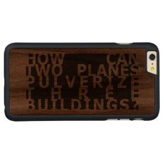 CARVED® WALNUT iPhone 6 PLUS HÜLLE