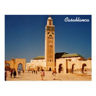 Casablanca Postkarte