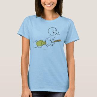 Casper-Fliegen auf Besen T-Shirt