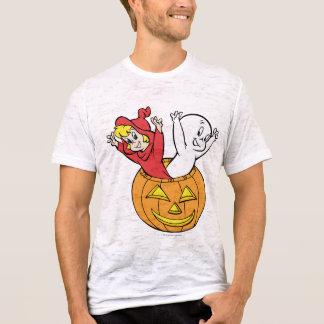 Casper und Wendy im Kürbis T-Shirt