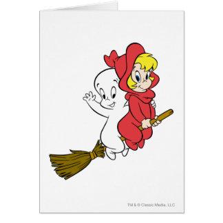 Casper- und Wendy-Reitbesen Karte