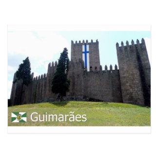 Castelo de Guimarães, Portugal Postkarte