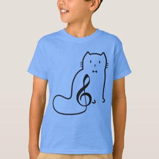 CAT- UND MUSIK-ANMERKUNG T-Shirt