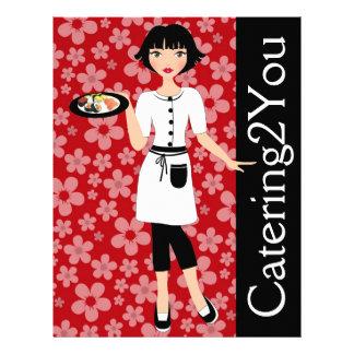 Catering-Geschäfts-Flyer - SRF 21,6 X 27,9 Cm Flyer