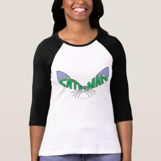 Catwoman-Logo-Grün T-Shirt