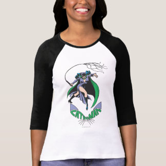 Catwoman u. Logo-Grün T-Shirt