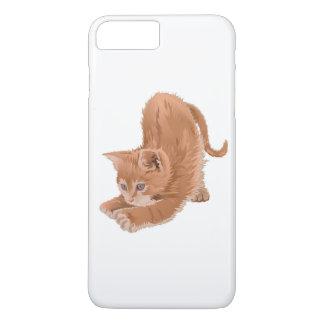Cawaii Cartoon-Katze für iPhone 6/6s Fall iPhone 7 Plus Hülle