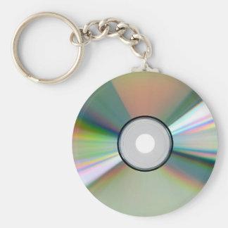 """""""CD"""" Entwurfsgeschenke und -produkte Standard Runder Schlüsselanhänger"""