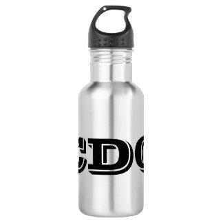 CDQ Wasser-Flasche Edelstahlflasche