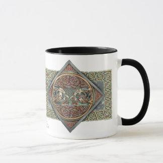 Celtic Gryphons Entwurfs-Tasse Tasse