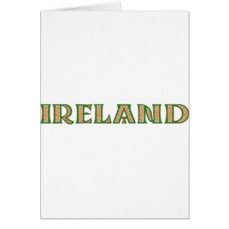 Celtic Irland Grußkarte