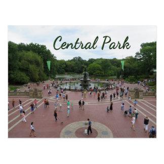 Central Park-New- York Citypostkarte Postkarte