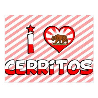 Cerritos, CA Postkarte