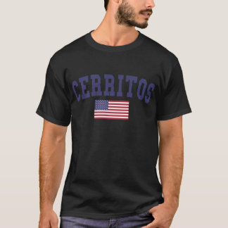 Cerritos US Flagge T-Shirt