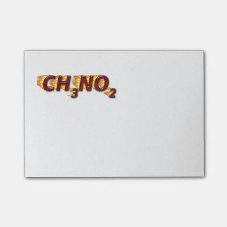 CH3NO2 - Nitro Post-it Klebezettel