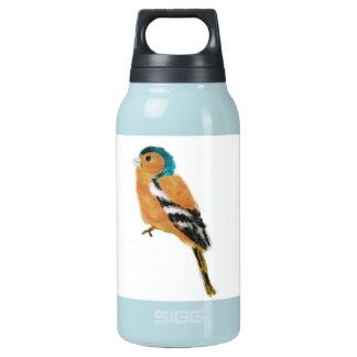 Chaffinch-Vogel-Kunst Isolierte Flasche