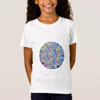 Chakra Blumen-Sonnenblume-Sonnenschein-Herz T-Shirt