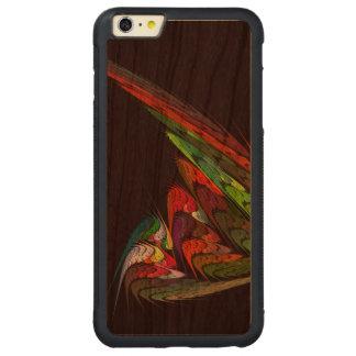 Chamäleon-abstrakte Kunst Carved® Cherry iPhone 6 Plus Bumper Hülle
