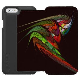 Chamäleon-abstrakte Kunst Incipio Watson™ iPhone 6 Geldbörsen Hülle