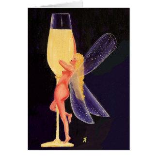 Champagne-Fee Karte