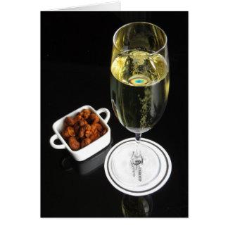 Champagne mit Acajoubäumen Karte