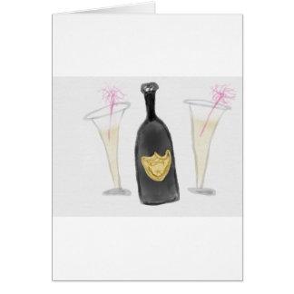Champagne-Party für 2 Karte