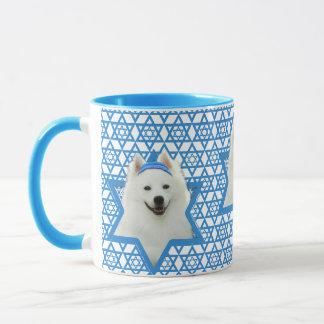 Chanukka-Davidsstern - Amerikanischer Eskimohund Tasse