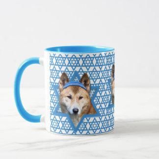 Chanukka-Davidsstern - Dingo Tasse
