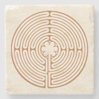Chartres-Labyrinth Steinuntersetzer