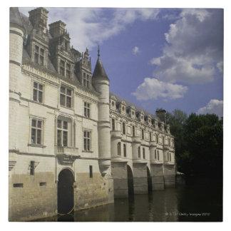 Chateau de Chenonceau in Frankreich Keramikfliese