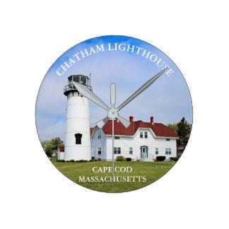 Chatham Leuchtturm, Uhr Cape Cods Massachusetts