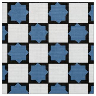 Checkboard Fliesen Stoff
