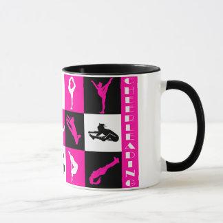 Cheerleading Block-Tasse im Rosa Tasse