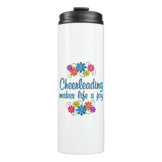 Cheerleading Freude Thermosbecher