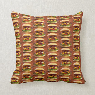 Cheeseburgerhimmel Kissen