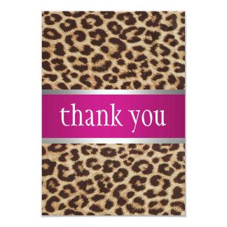 Cheetah-16. Geburtstag-Einladung 8,9 X 12,7 Cm Einladungskarte
