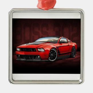 Chef 302 des Rot-2012 Silbernes Ornament