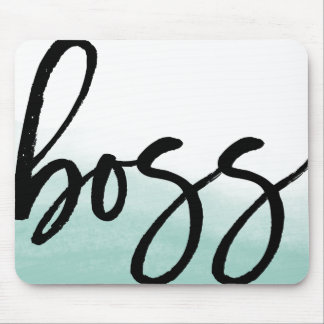 Chef-moderne Typografie Mousepad