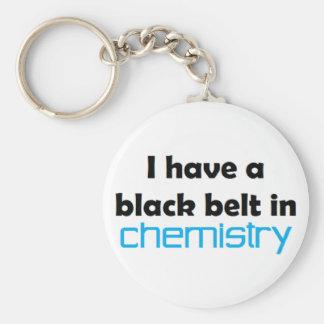 Chemie-schwarzer Gürtel Schlüsselanhänger