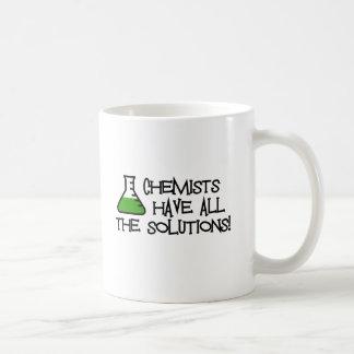 Chemiker haben alle Lösungen Tasse