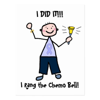 Chemo Bell - General Cancer Male Postkarten