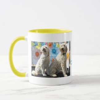 Chester und Lilly - GoldenDoodle -7 Tasse