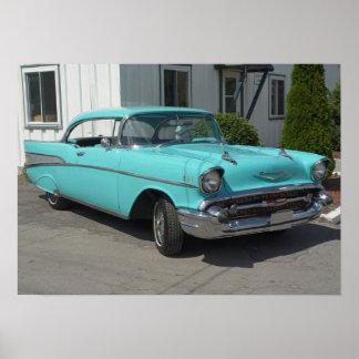 Chevrolet-Bel Air 1957 Poster