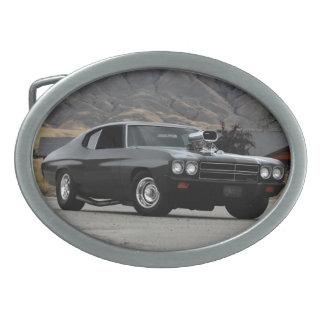 Chevy Chevelle Widerstand-Muskel-Auto 1970 Ovale Gürtelschnallen